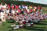 73 R/C Planes Flying