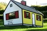 Modern Art - House I by Roy Lichtenstein