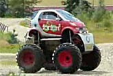 Smart Car Monster Truck