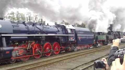 Steam Locomotive Parade